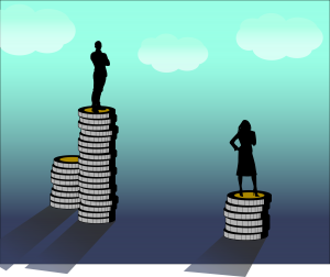 Ženske smo za enako delo plačane manj. In pika.