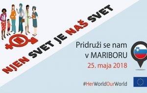 Pridružite se nam: Njen svet je naš svet