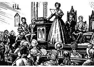 Deklaracija o stališčih in sklepih iz Seneca Falls, 1848: Nastanek gibanja za pravice žensk v ZDA
